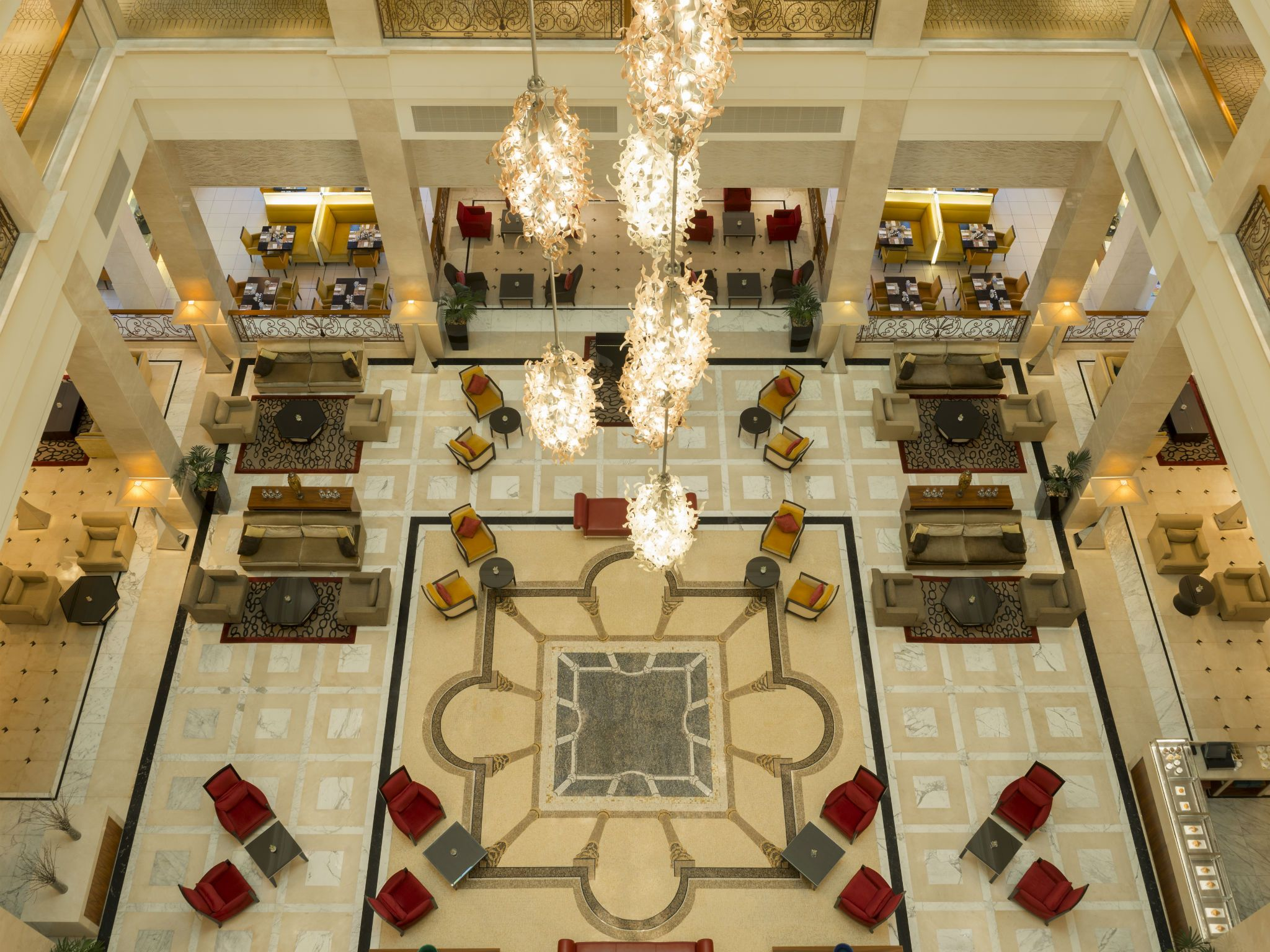 The Atrium Lobby Lounge